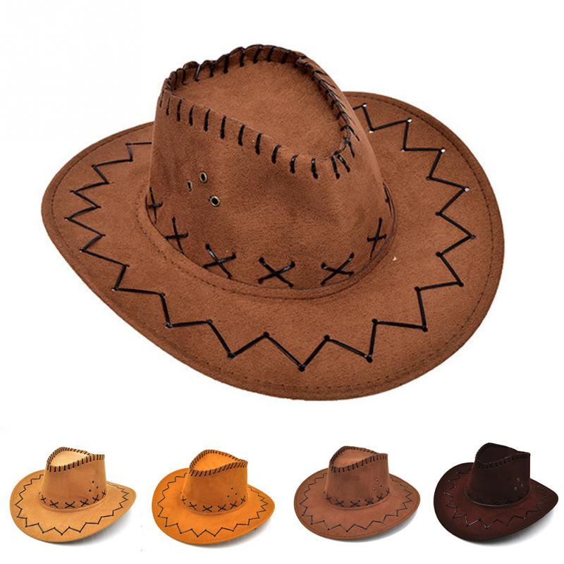 Kid Children Boy Girl Wool Felt Fedora Cowboy Cowgirl Western Bull Jazz Sun Hat