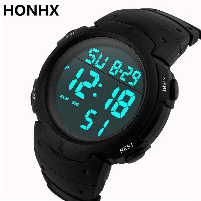 Men Reloj Men's Date Hombre Boy In Stopwatch Led Wrist Rubber Waterproof Pulsera Sport Watches Watch Digital Us1 93honhx b7IYyvf6g