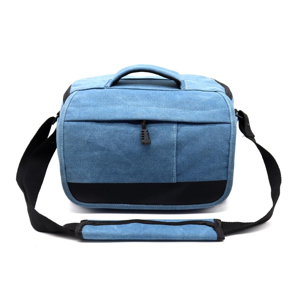 SLR Camera Bag Canvas Case For Nikon D90 D500 D5300 D3300 D3100 D750 D7200 D3400 D5500