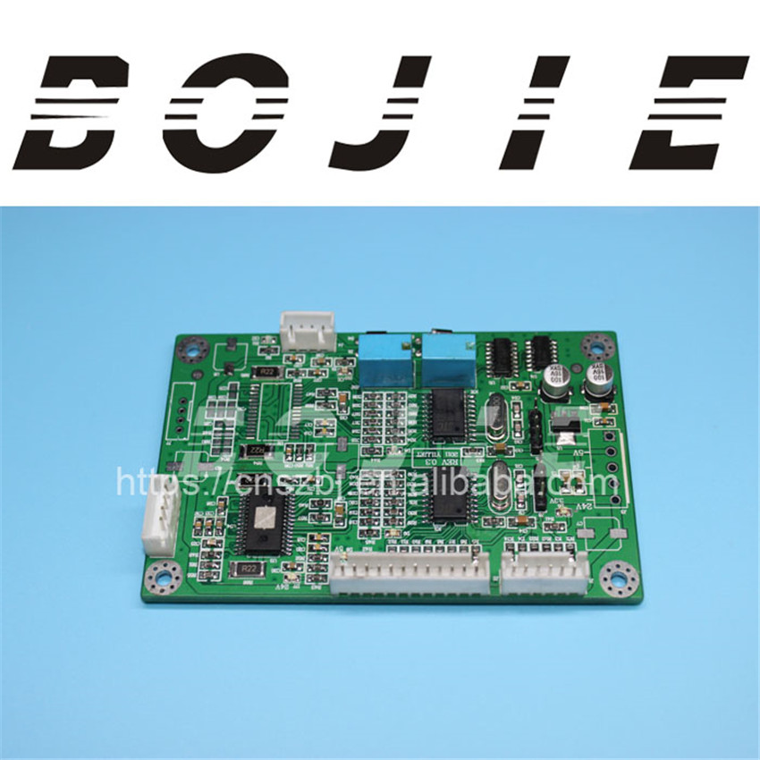 Motor driver board for xenons 2 heads dx5/dx7 head printer large format solvent printer xenons dx7 printhead board carriage card 1h one head for epson dx7