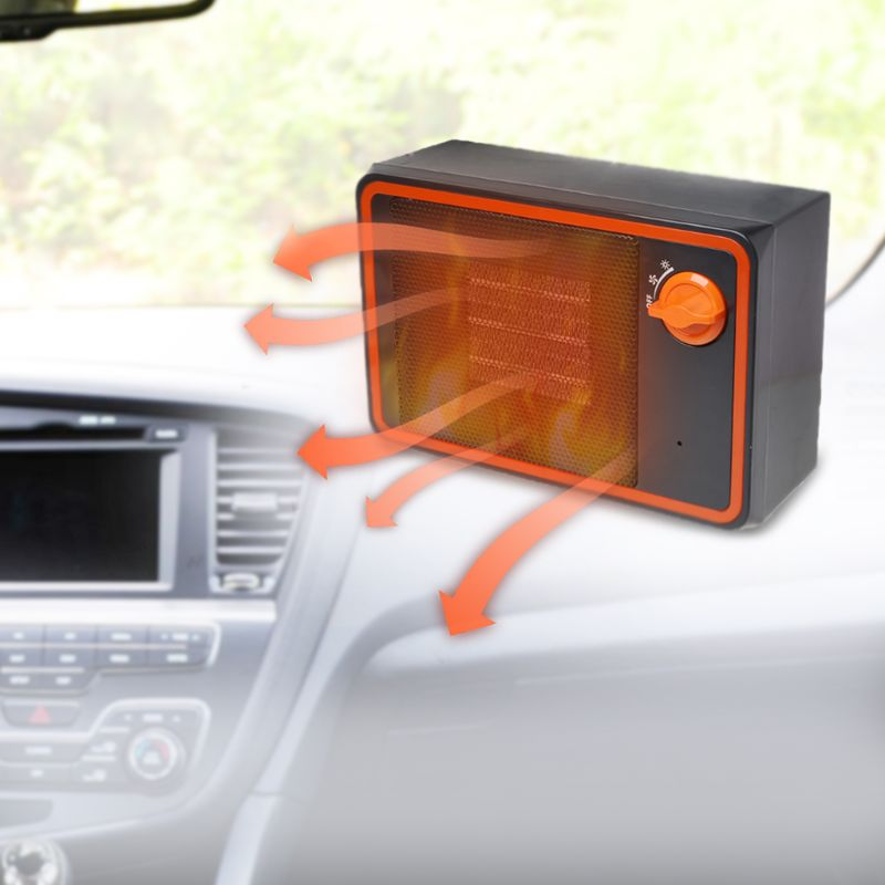 Voiture générateur d'air chaud Dégivreur De Lunette Auto Chauffage De Refroidissement Anti-Buée 24 V allume-cigare Puissance