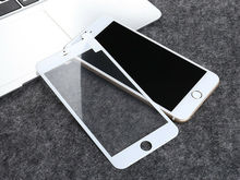 9H Hardness Full Coverage Edge Tempered Glass Screen Protect Fit For iPhone 7 8  Accessories