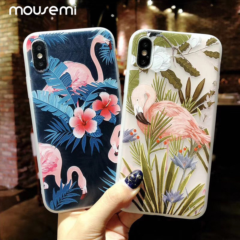 Flower Phone Case For iPhone 6 7 Case Girl 1
