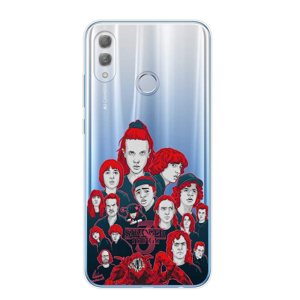 Fremden dinge saison 3 2019 Telefon Fall Für Coque Huawei Honor 9 10 20 Lite Pro 10i 8X 8C Y9 2019 weiche Silikon TPU Abdeckung Capa
