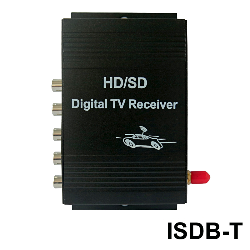 Free Shipping External Car Digital Tv Receiver Isdb-t For Brazil Peru Argentina Tv Box Excellent (In) Quality