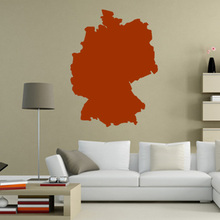 Germany map Globe Earth Country wall vinyl sticker custom made home decoration fashion design