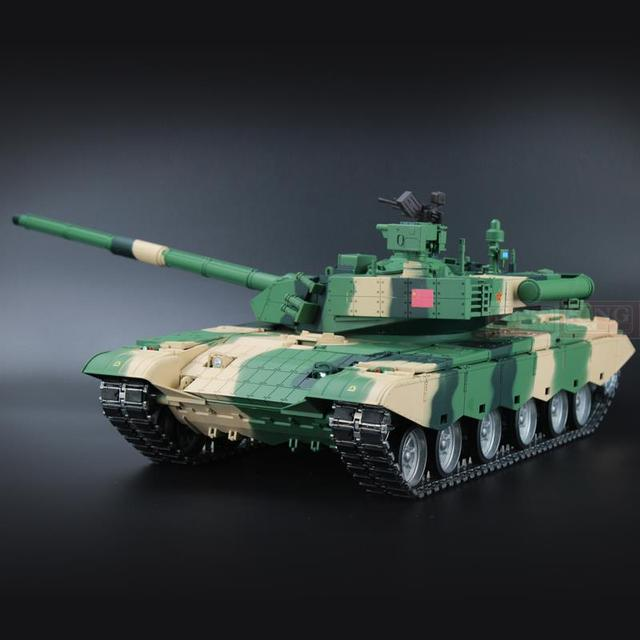 6733784f4061 Heng Long China Army ZTZ 99A MBT 1 16 scale 2.4Ghz RC main battle ...