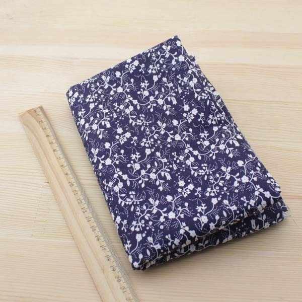 Booksew 7 قطعة 50 سنتيمتر x 50 سنتيمتر الأزرق الداكن الدهون أرباع القطن النسيج DIY بها بنفسك الخياطة خليط الأقمشة تيلدا القماش telas tecido تول