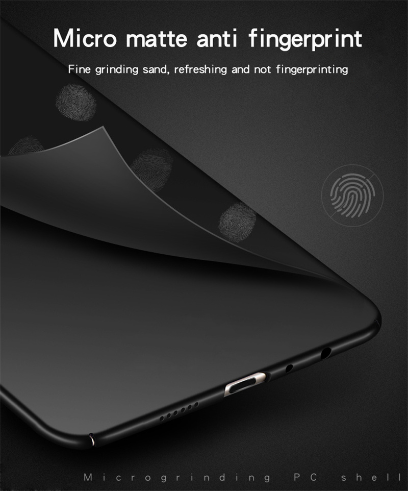 Image 5 - Vivo Y93 Case Silm Luxury Ultra Thin Smooth Hard PC Phone Case For Vivo Y93 Back Cover For BBK Vivo Y93 Full Protection Fundas-in Fitted Cases from Cellphones & Telecommunications