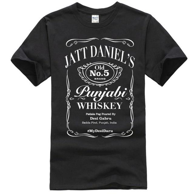 US $12 99 |Jatt Daniel's Punjabi T Shirt from My Desi Daru Premium Quality  Fabric-in T-Shirts from Men's Clothing on Aliexpress com | Alibaba Group