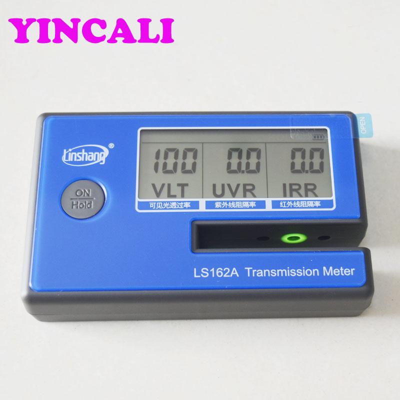 High Quality LS162A Window Tint Meter Solar Film Transmission Meter Measure VL,UV,IR Wavelength Resolution 0.1%