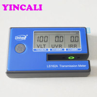 High Quality LS162A Window Tint Meter solar film transmission meter measure VL,UV,IR wavelength Resolution 0.1%