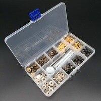 40 компл. кожаные кнопки для ремонта заклепок застежка кнопка с крепежные кронштейны для ремней DIY ремесла Пресс-шпильки панк