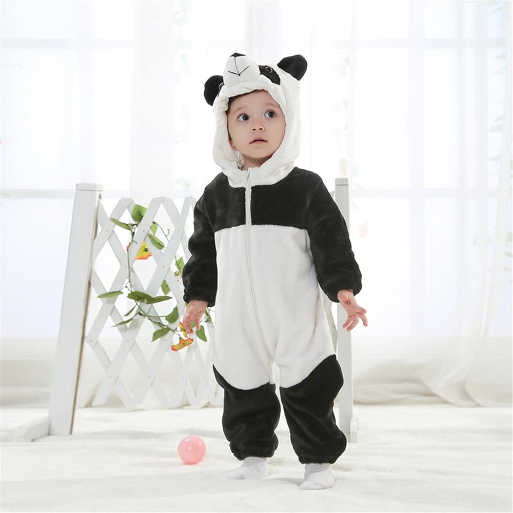 Androktones Uşaq geyimləri Romper dəsti Panda Qış Heyvanı - Karnaval kostyumlar - Fotoqrafiya 1