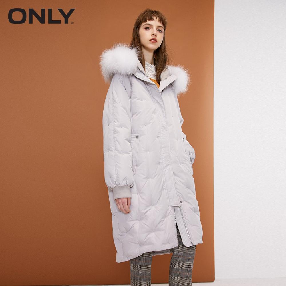 เฉพาะผู้หญิงฤดูหนาวสไตล์ใหม่ cocoon รูปร่างยาวลงแจ็คเก็ต Mid rise การออกแบบสายรัดแขน Raglan  118312529-ใน เสื้อโค้ทดาวน์ จาก เสื้อผ้าสตรี บน   1