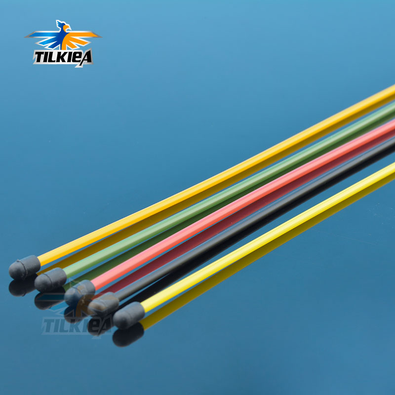 Blue Antenna Tube with Cap 380mm x5pcs CPV 56402B RC Boat Car Truck spare parts