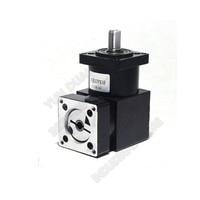 4 :1 Right Angled Planetary Speed Reducer Gearbox 90degree Angle Reversing Corner Reducer for NEMA23 57mm Stepper Motor Cheap
