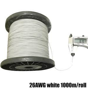 Image 3 - 50m26AWG 30AWG 32AWG 34AWG Teflo マイクロリッツ線はんだ電子ワイヤー高温抵抗線カベル