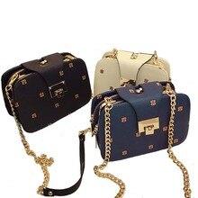 Bolsa feminina retro crossbody handbags autumn chain messenger small shoulder winter