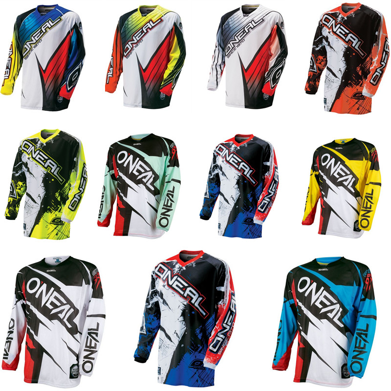 2018 New Arrival Jeresy Downhill Jersey MTB Offroad long motorcycle long motocross Racing Riding Cycling Jersey long T-shirt