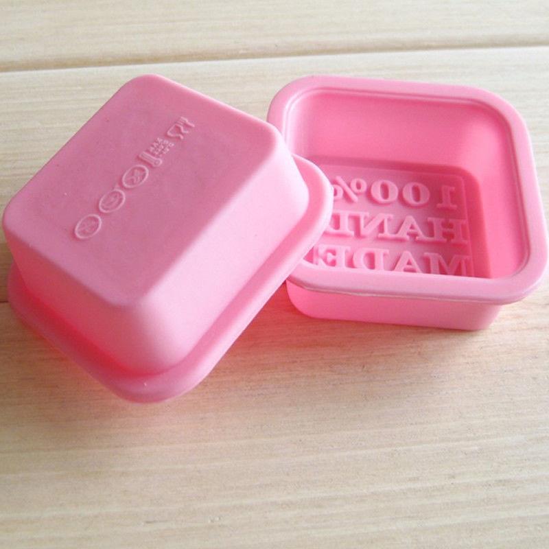 Горячие силиконовые ледяной куб конфеты шоколадный торт печенье кекс формы мыло Плесень DIY 12 форма прямоугольник квадратная Роза