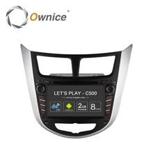 Ownice C500 Octa 8 Core Android 6.0 AUTO DVD-player für Hyundai accent Solaris Verna i25 mit GPS BT radio wifi 4G LTE Netzwerk