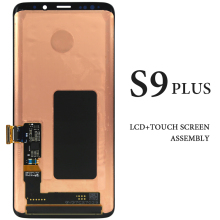 For Samsung Galaxy S9 Plus LCD Screen 6.2'' Black AMOLED Panel Assembly Repair Spare Part For Samsung S9+ G965 G965 LCD Display for samsung galaxy trend lite s7390 s7392 lcd display panel monitor screen repair replacement part free tracking