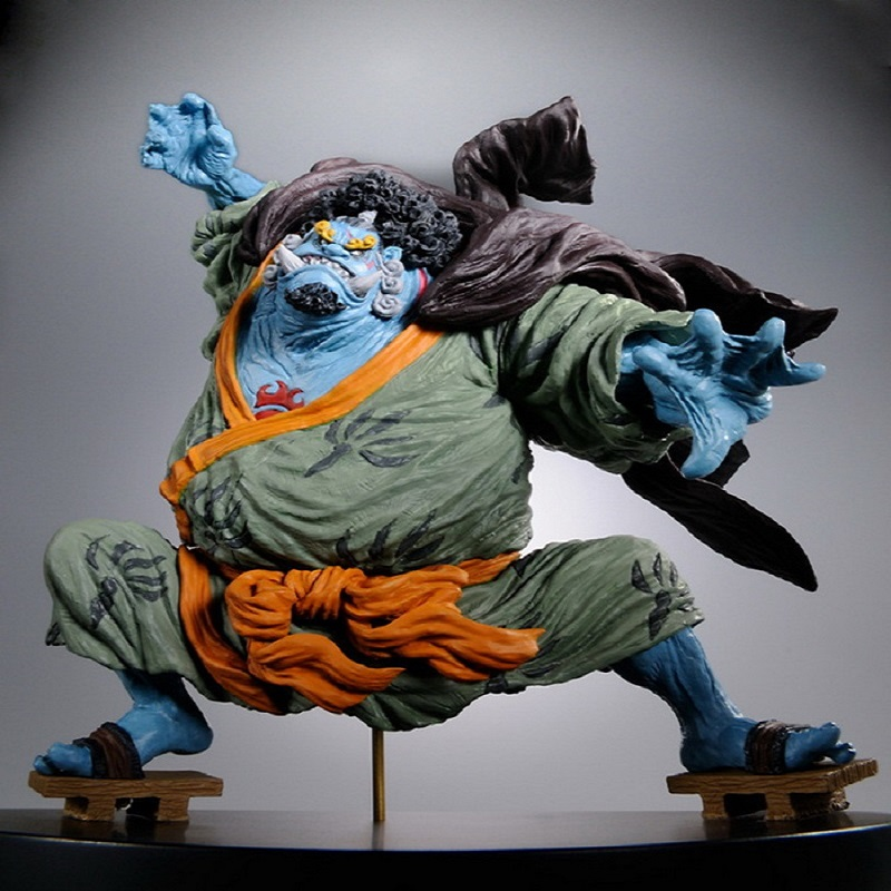 Anime One Piece Jinbe Luffys friend strong sense of justice PVC Action Figure Collection model ToyAnime One Piece Jinbe Luffys friend strong sense of justice PVC Action Figure Collection model Toy