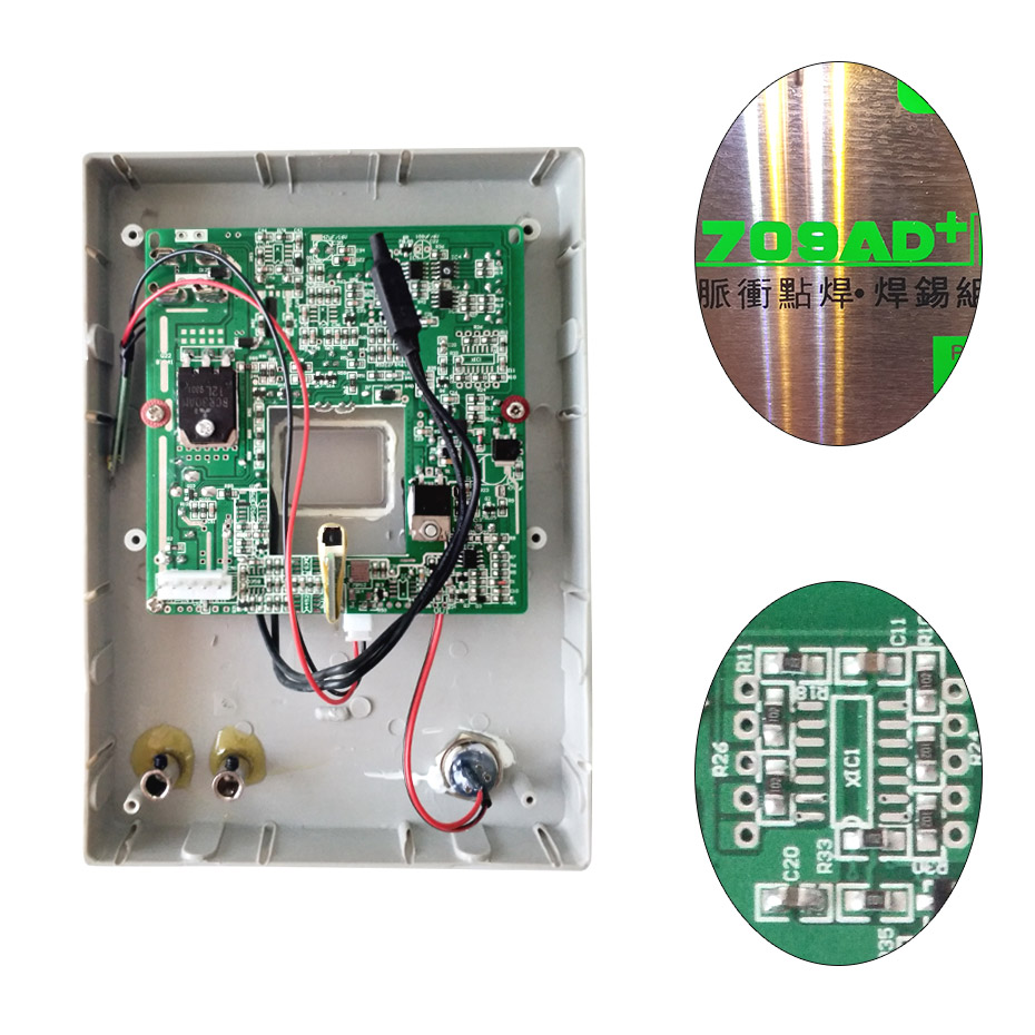 SUNKKO 709AD + Spot Soudeur circuit imprimé Pour Batterie soudeuse à points 18650 Réparation De Soudage Par Points Remplacement circuit imprimé