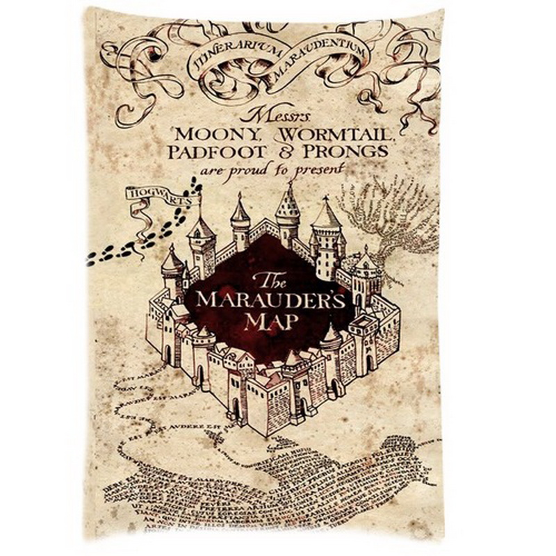 Stupendous image in printable marauders map