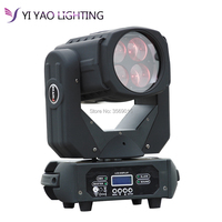 4x25W LED beam moving head light super 4x25 w moving head