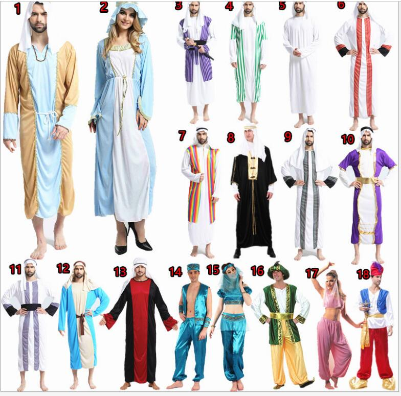 Men rome arab arabian costume middle east costume robe adult men rome arab arabian costume middle east costume robe adult traditional clothes halloween carnival cosplay arabian costumes in holidays costumes from sciox Images
