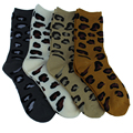 Free shipping 2017 High Quality cotton new style super soft towel Leopard cute and sex socks lovely women men couple thick socks