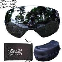 Genuine Brand Benice Skiing Glasses Double Lens Big Spherical Winter Snow Snowboard Anti Fog Ski Goggles