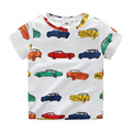 Boys T Shirt Color Cartoon Car Kids T Shirt Boy O-neck Short Sleeve Summer Kids Shirts Fashion Children Clothing 2297