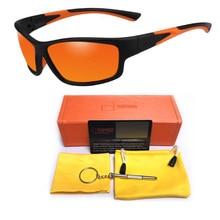 Sport Polarized Sunglasses Polaroid Sun Glasses Outdoor UV400 Windproof For Men Women Fishing Retro Goggles Masculino