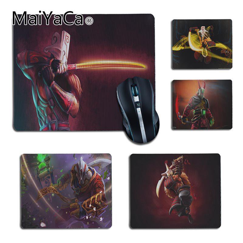 MaiYaCa Custom Skin Dota 2 Juggernaut Laptop Computer Mousepad Top Selling Wholesale Gaming Pad mouse desk pad