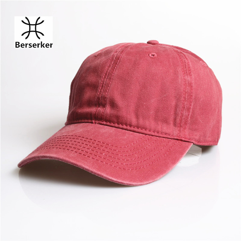 high quality washed cotton brand fashion baseball caps for