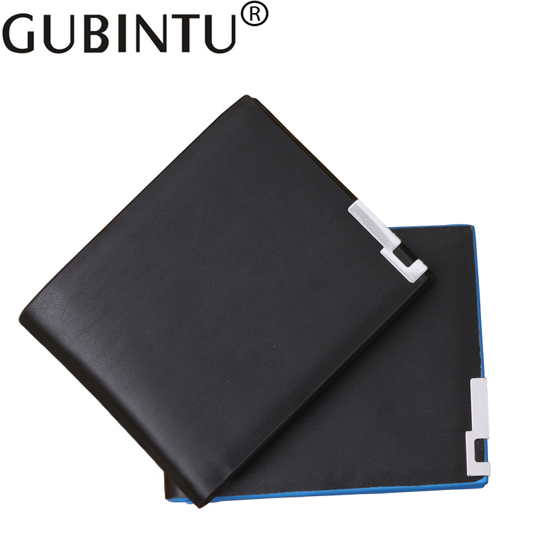 Gubintu Fashion Men Wallet Male Purse Small Perse Short Walet Slim Cuzdan Thin Vallet For Money Bag Vintage Card Holder Pocket