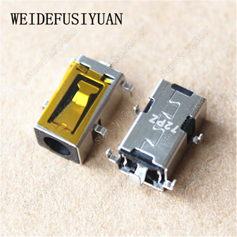 10pieces/lot  New AC DC Power Jack Connector Socket Port for Lenovo Ideapad 100-14IBD 100-15IBD Charger Port Plug Socket 1pcs dc power jack socket plug connector port for asus k53e k53s mother board new arrival wholesale