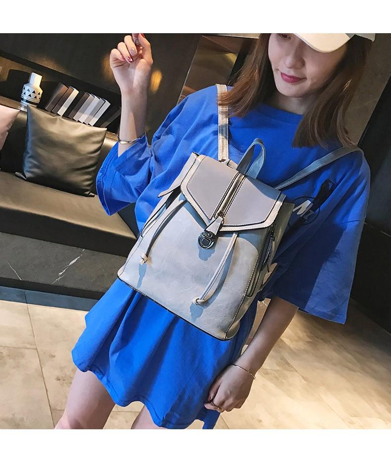 HTB1nwn3bRCw3KVjSZFuq6AAOpXaj Vintage Matte Leather Women Backpacks High Quality Multifunctional Shoulder Bag Female Girls Backpack Retro Schoolbag XA533H