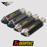 Akrapovic exhaust motorcycle exhaust escape moto db killer For honda cb190r yamaha cygnus 125 suzuki gixxer yamaha r1 exhaust