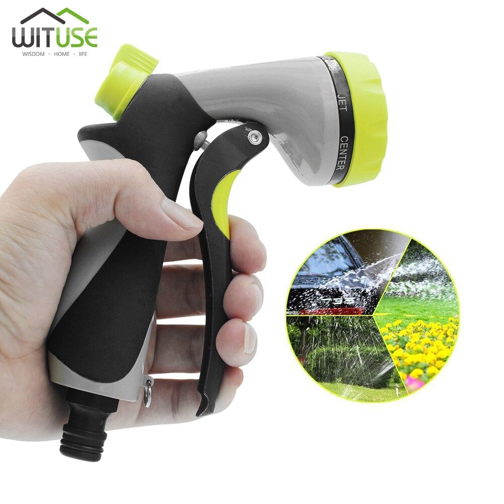 Image 3 - Multifunctional Water Spray Gun Portable Car Washing Lawn Garden Watering High Pressure Water Sprayer Washer Watering Tool-in Garden Water Guns from Home & Garden