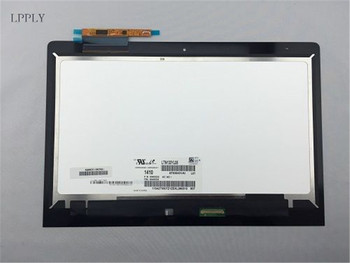 LPPLY 13.3 INCH LCD assembly For Lenovo Yoga 900-13ISK2 80UE LCD Display Touch Screen Digitizer Glass 1920X1080 Free Shipping