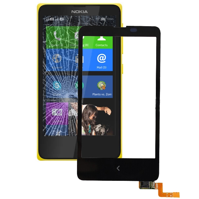 Touch screen Touch Panel with Frame for Nokia XL Nokia X Touch Screen Digitizer Sensor Lens Front Glass  Replacement enlarge