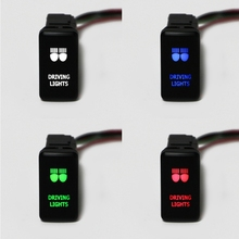 Fog Light Switch Wire Laser Button Car Automobile SUV Push For Toyota