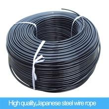 Оборудование для фитнеса диаметр 5 мм или 6 мм стальной трос для фитнеса общий кабель для силовой тренировки отрицательный Вес 800 кг