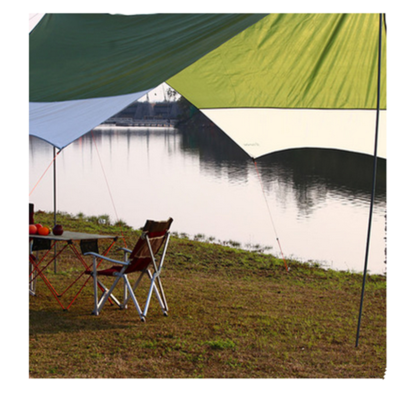 Waterproof Outdoor Hiking Tent Canopy Camping Large Ultralight Awning Tent Camping Tent Car Shed yp100120 100x120cm 100x240cm 100x360cm prefab homes roof top tent polycarbonate sheet plastic shed overehead doorawning