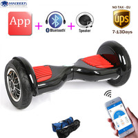 Bluetooth Speaker Self Balance Scooter Skateboard Stand Up Hover Board App Unicycle Mini Skywalker LED Light