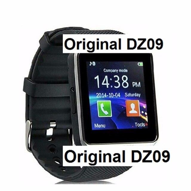 Bluetooth Смарт Часы Smartwatch DZ09 Для Android Телефон Часы Поддержка Facebook Whatsapp SD SIM С Камерой Шагомер